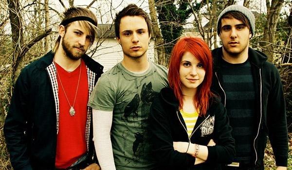 Integrantes de Paramore