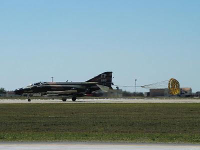 Randolph Air Force Base 2011 Air Show: F-4D Phantom Landing