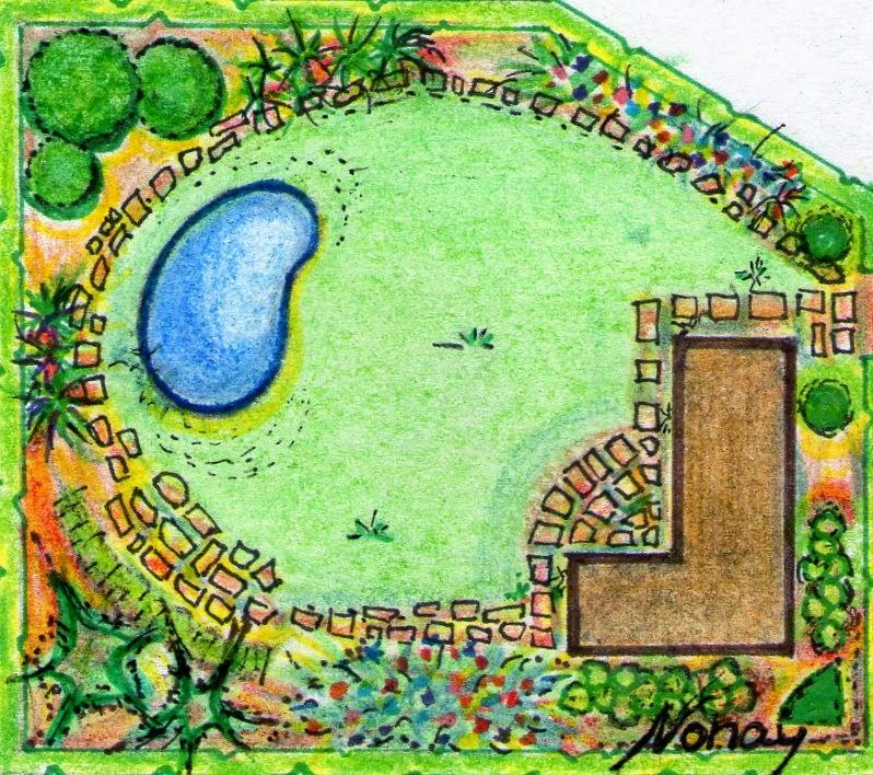 Dise o de jardines y parques paisajismo septiembre 2014 for Planos de jardines