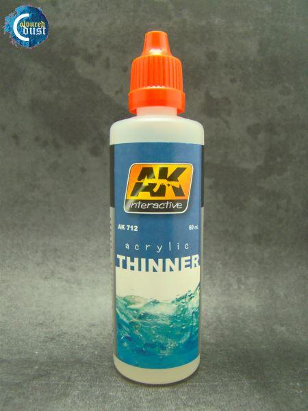 AK 712 Acrilic Thinner (60Ml)