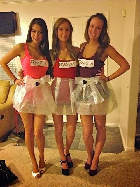 Franzia Wine Girls Costumes