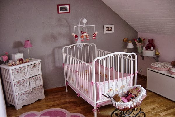 Photos chambre bébé fille