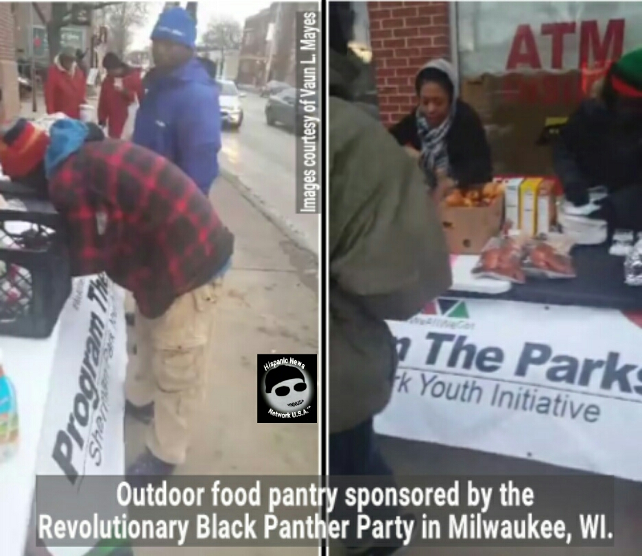 Members Of The Revolutionary Black Panther Party Get Confronted By White  Cops Who Confiscated A Weapon While Holding An Outdoor Food Pantry Event At  N. 27th ...