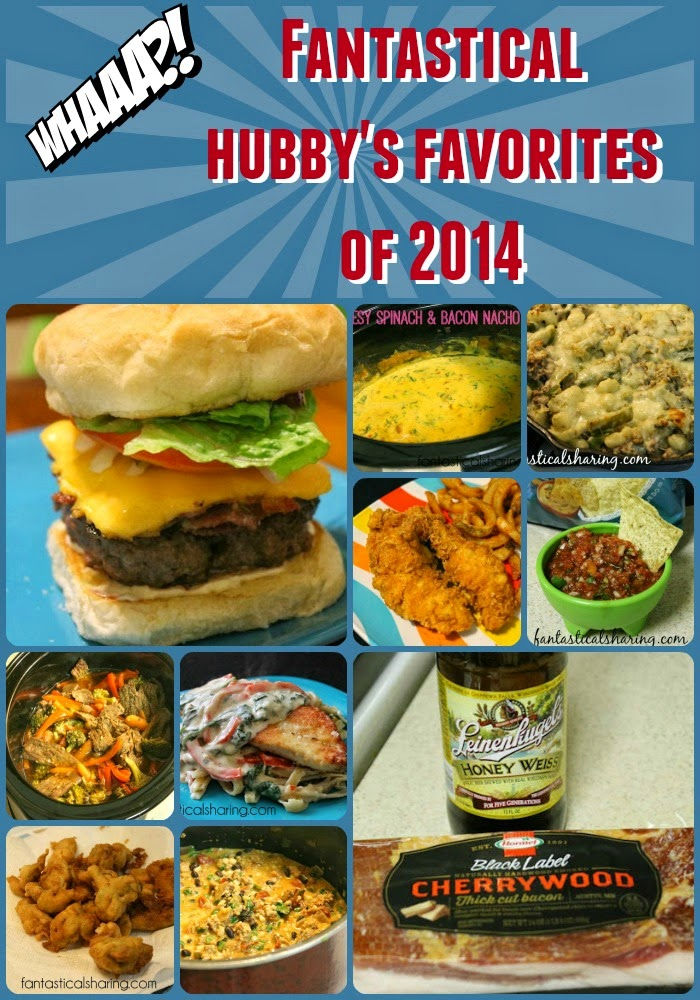 I'm not the only one sharing some Fantastical favorites of 2014! My husband is joining in the fun. Check out what #recipes made his list :) #favorites #Countdownto2015 #newyear