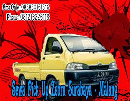 Sewa Pick Up Zebra Surabaya - Malang