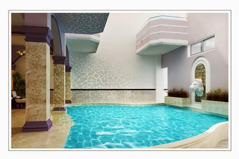 Bể bơi tại Khách sạn Palm Beach