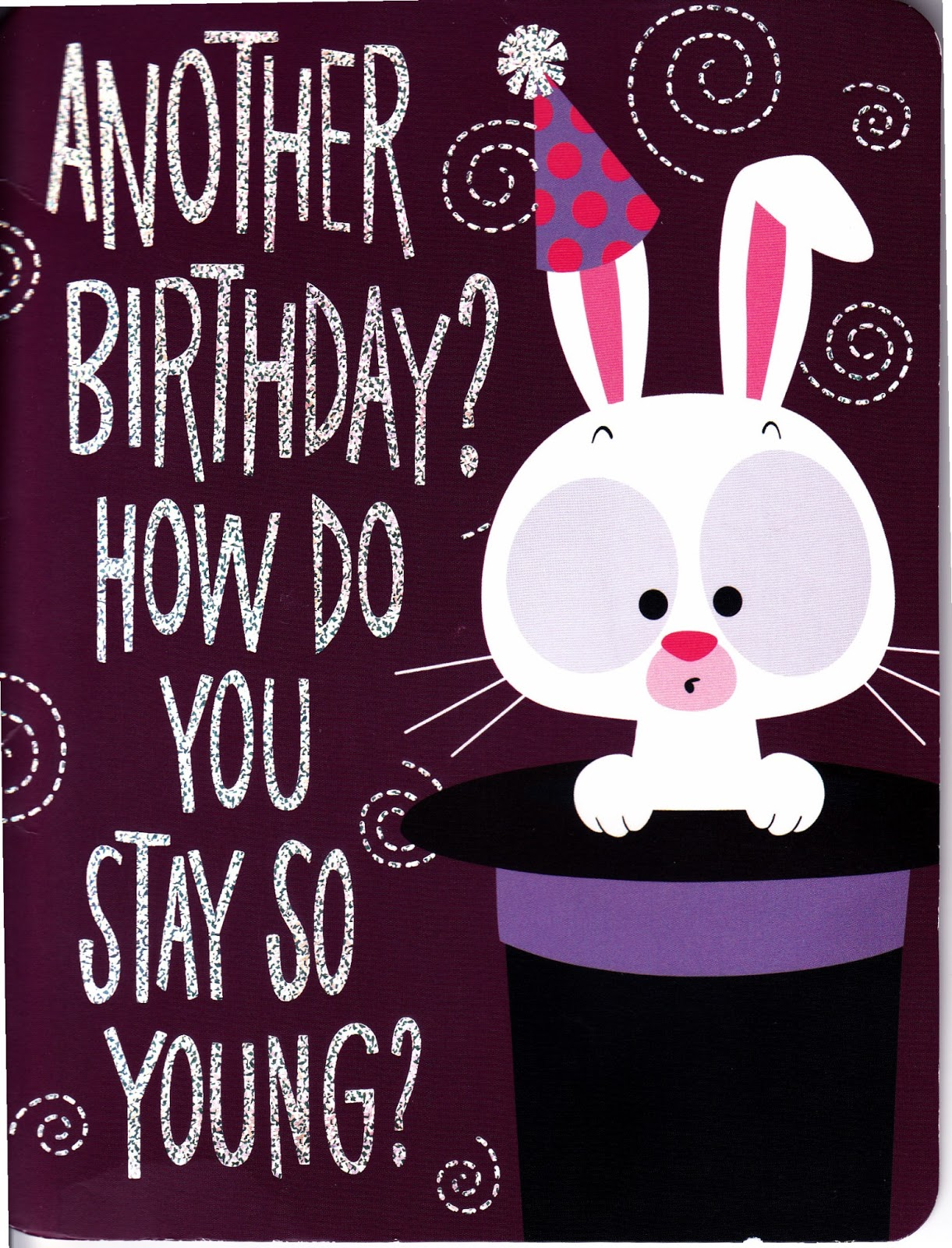 Rabbit Ramblings Bunny Birthday Cards Ghrs Challenge Update