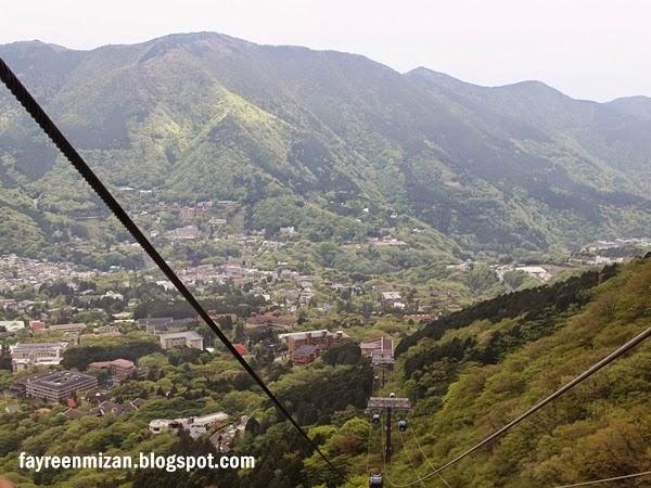 Hakone ropeway