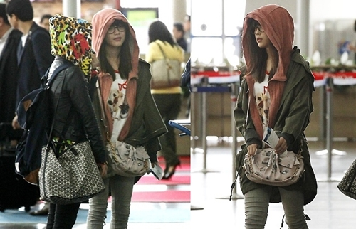 All About IU IUs Airport Fashion