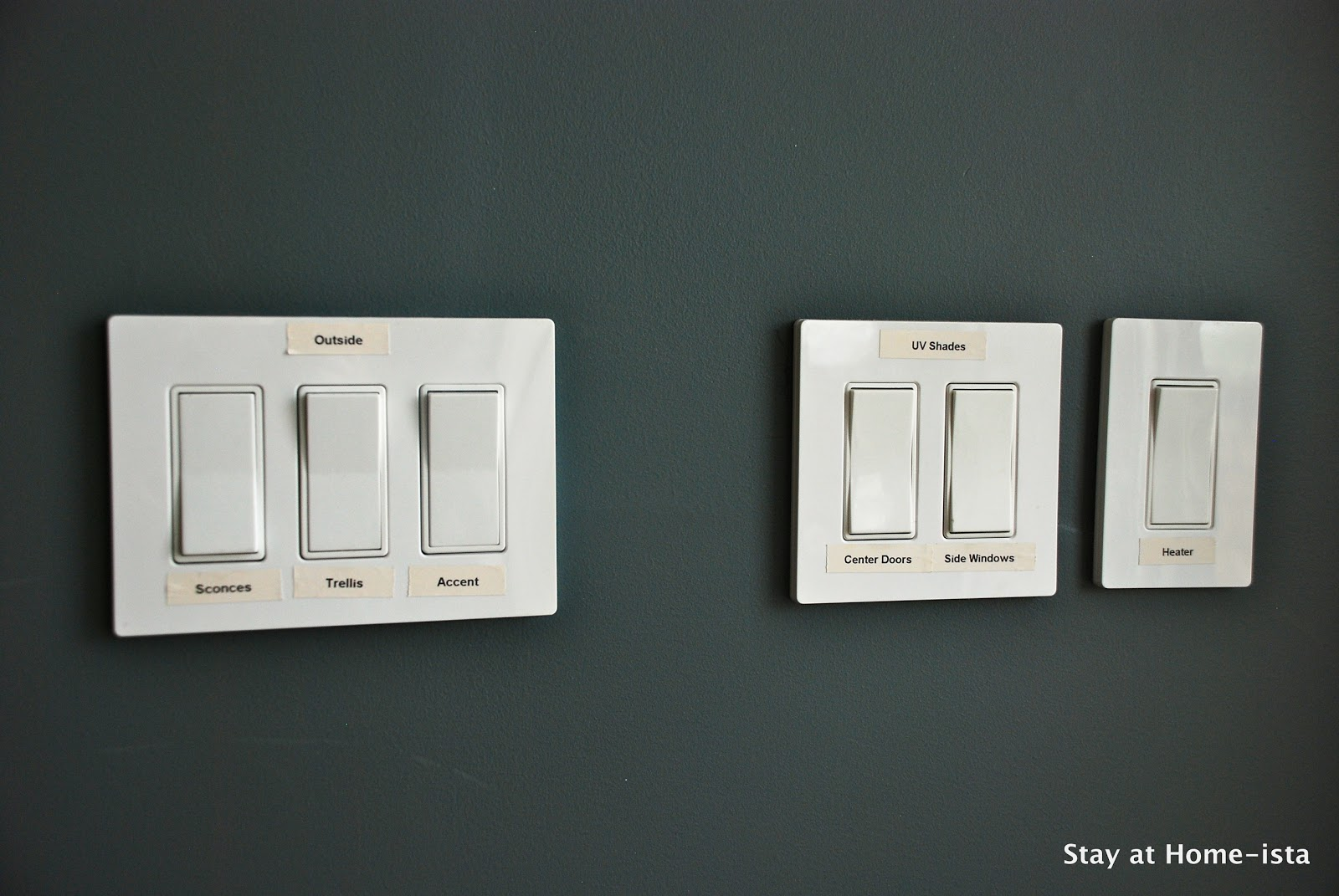 Room With Three Light Switches
