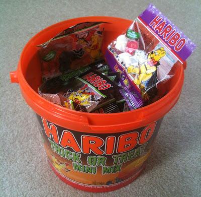 haribo halloween bucket