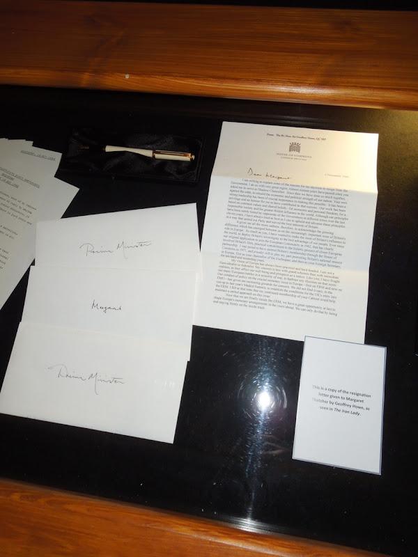 Iron Lady Geoffrey Howe resignation letter