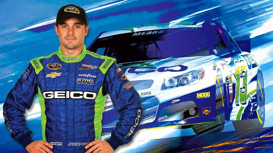 Germain Racing = Casey Mears