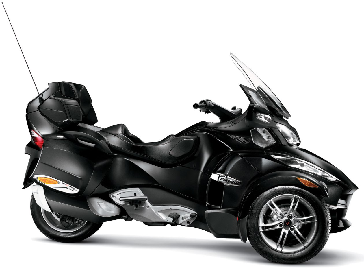 2011 Can-Am Spyder RT-S Timeless black metallic