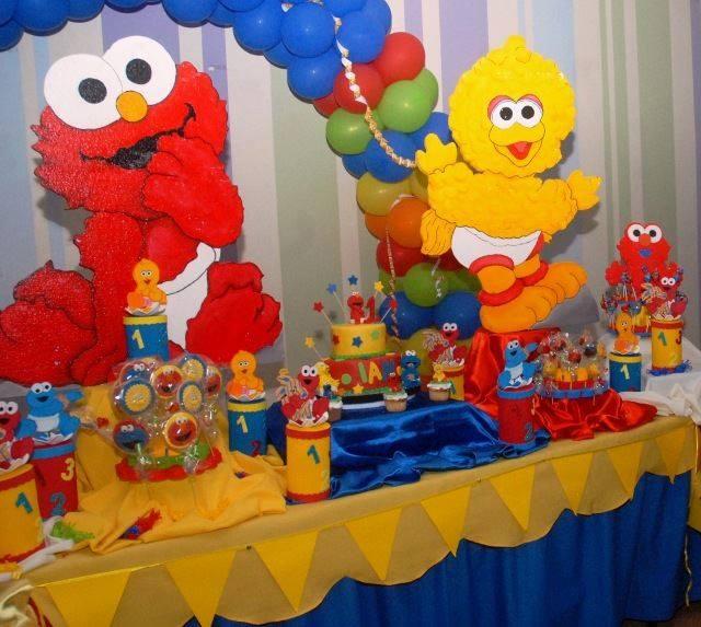 CHIQUIFANTASIAS: Fiesta de Elmo, come galletas baby