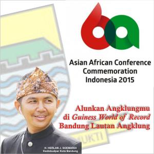 Sukseskan KAA Ke-60 di Kota Bandung
