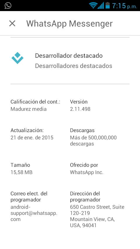 Descargando Whatsapp_versión_2.11.498