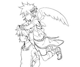 #33 Pit Coloring Page