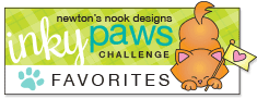 Newton's Nook Designs Inky Paws Challenge - Favorite