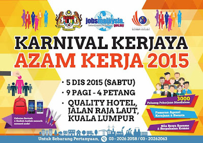 Temuduga Terbuka Karnival Kerjaya Kuala Lumpur