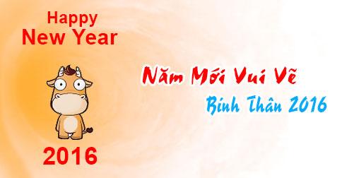Ảnh chúc năm mới vui vẻ dễ thương nhất 2016 - ảnh 7