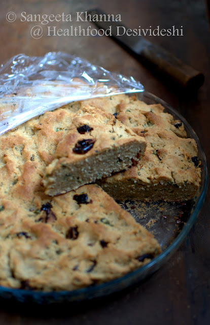 two quick soda breads | focaccia with sun dried tomatoes and parsley and another with black grapes and rose petals..