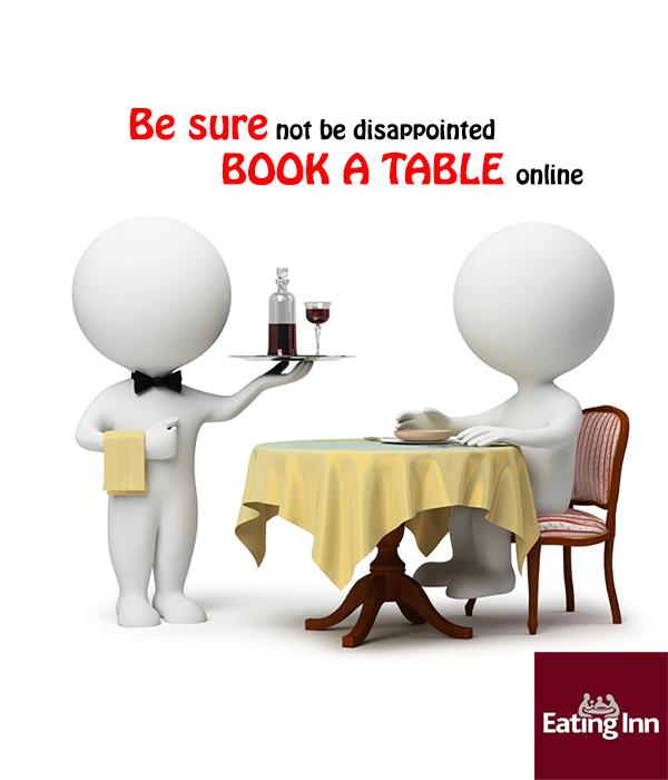 Eating inn the nurseryman beeston restaurant book a for Table 8 beeston