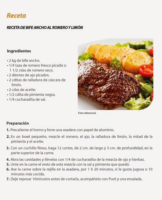 Receta de cocina for Resetas para comidas