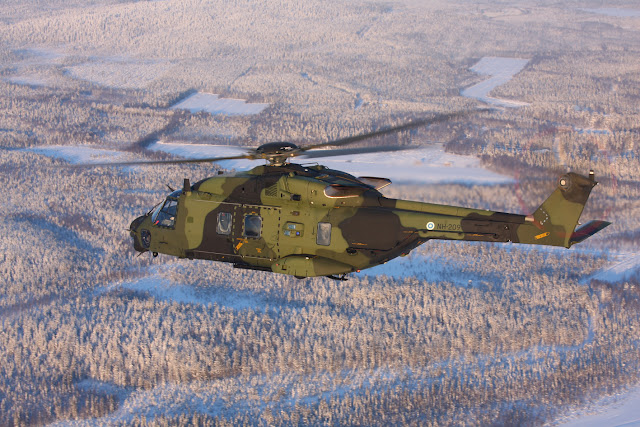 Finnish NH90-TTH