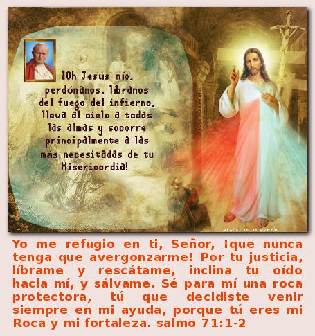 divina misericordia refugio seguro salmo 71
