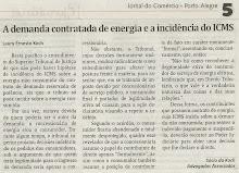 A Demanda Contratada de Energia e a Incidência do ICMS