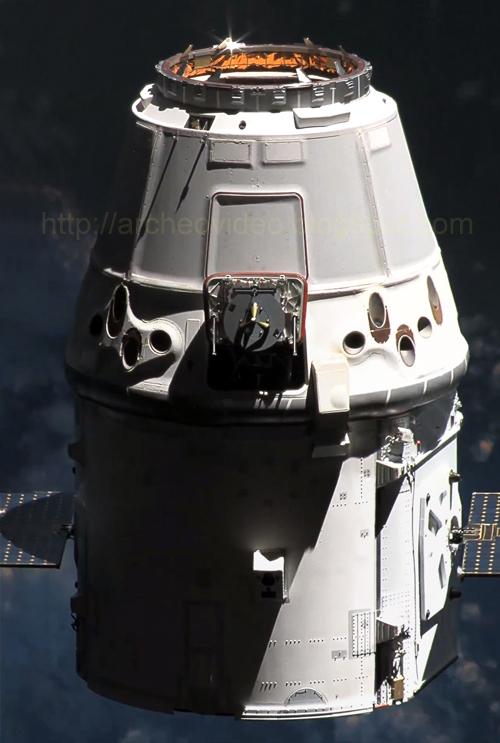 [Candidature] Photo du mois (Septembre 2012) Dragon_close_ISS_Panorama_richon_archeovideo_logo_500pix