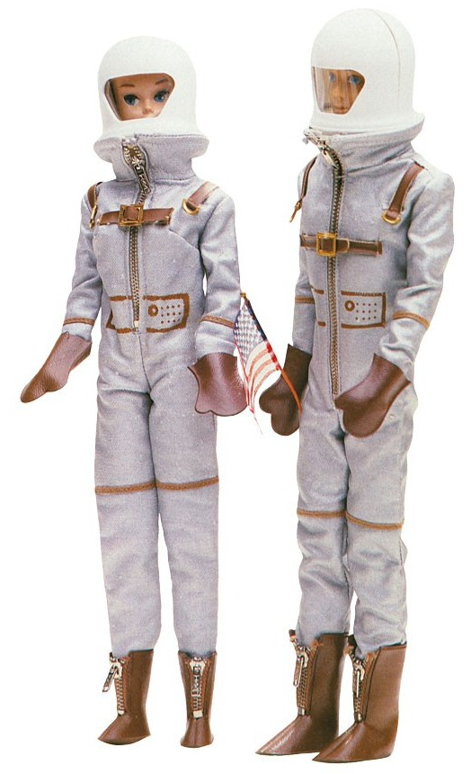 astronaut barbie 1965 - photo #5