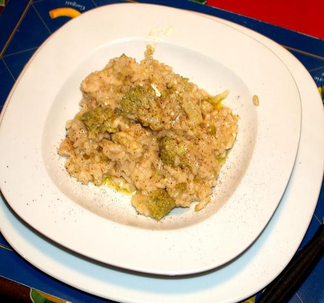 Cucinare per amore naturalmente risotto con il for Cucinare risotto