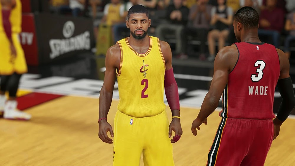 Cavs & Heat Christmas Jersey | NBA 2K15