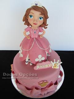 A Princesa Sofia no 5º aniversário da Jéssica