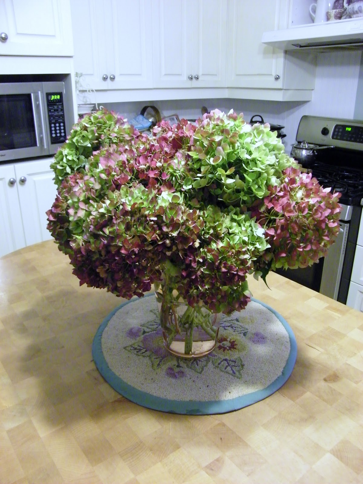 Maison Decor Fall Hydrangea Arrangements