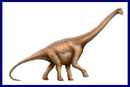 Brachiosaurus : Dinosaurios del mundo