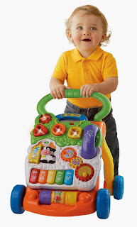 Vtech Sit-To-Stand Learning Walker on learning run