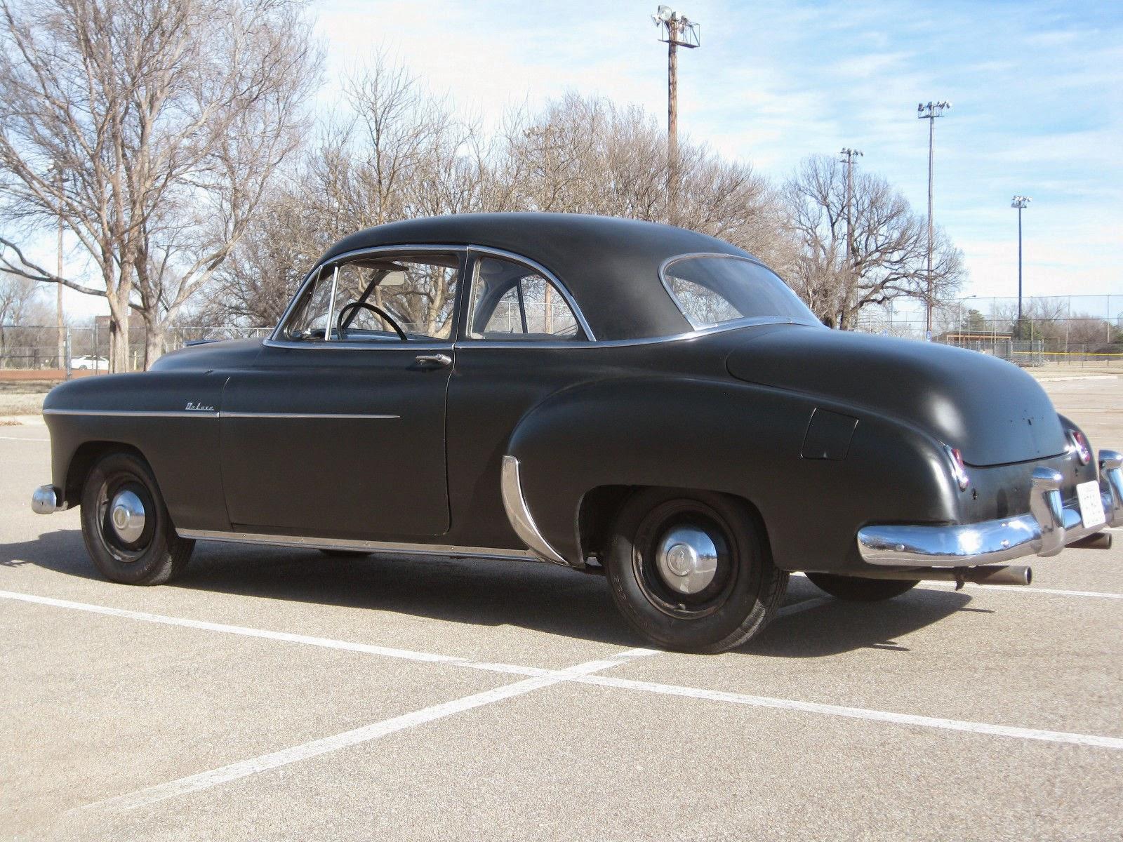 All american classic cars 1950 chevrolet deluxe styleline for 1950 chevy 2 door hardtop