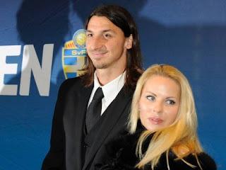 Zlatan Ibrahimovic Wife Helena Seger 2013