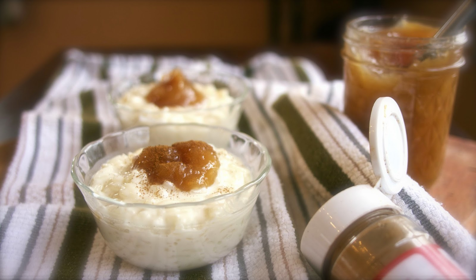 Arborio Rice Pudding-simplelivingeating.com