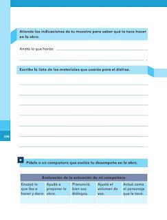 Apoyo Primaria Español 1er grado Bimestre 5 lección 10 ¡Manos a la obra!