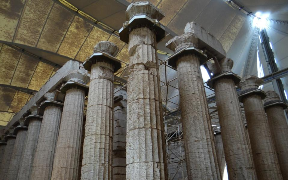 Temple of Apollo Epicurius closed on weekends - The ...