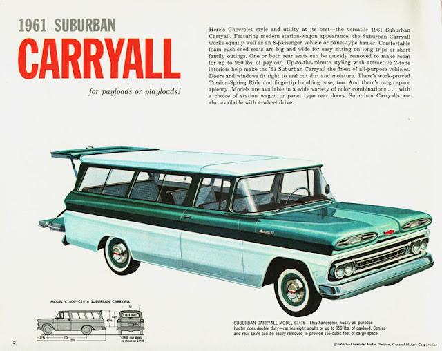 シボレー・サバーバン 6代目 | Chevrolet Suburban (1960-66)