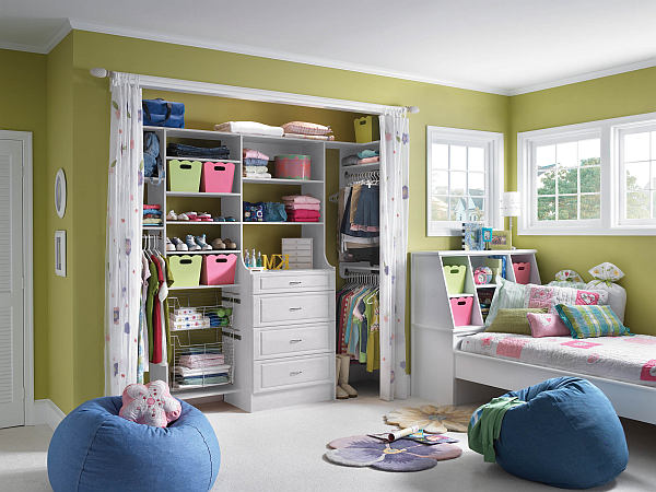 Genial ... For Kids Bedroom Closet Ideas. If You Have A Good Floor Plan To Your  Bedroom You Will Be Able To Come Up With A Ton Of Bedroom Interior Design  Ideas.