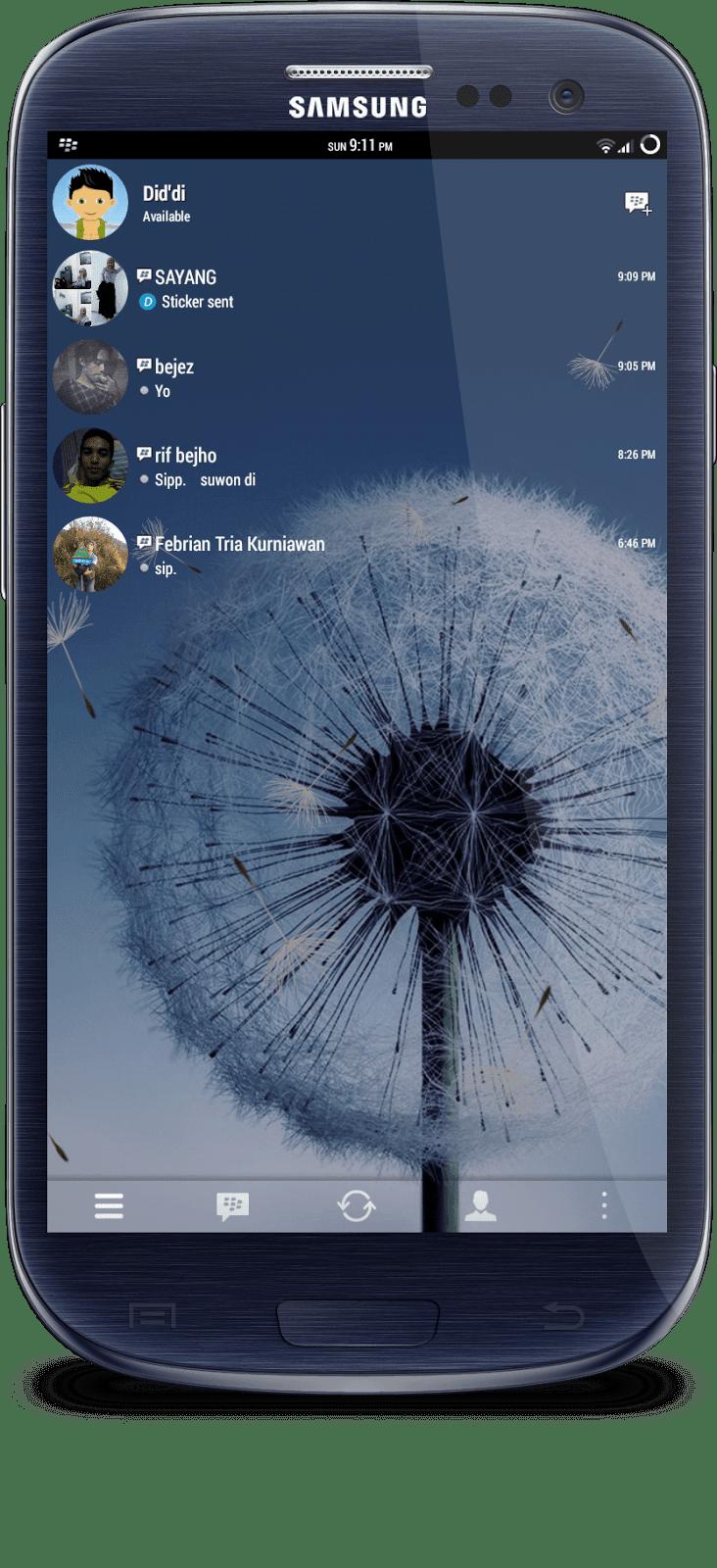 BBM Mod Transparan Terbaru