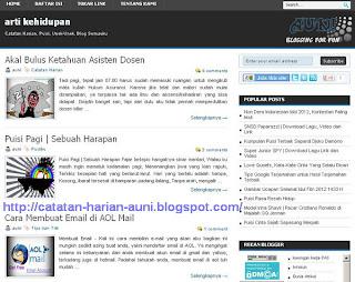 template blog keren seo