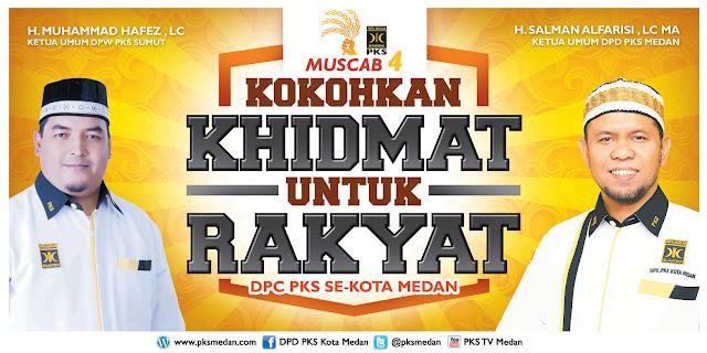 Ini Nama-Nama BPH DPC PKS Se-Kota Medan Yang Dilantik