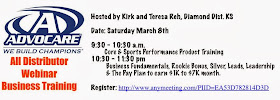 All Distributor Training Webinar Saturday March 8th